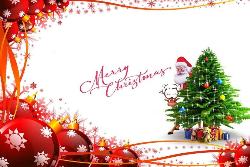 2017 Cute Merry Christmas Wallpapers