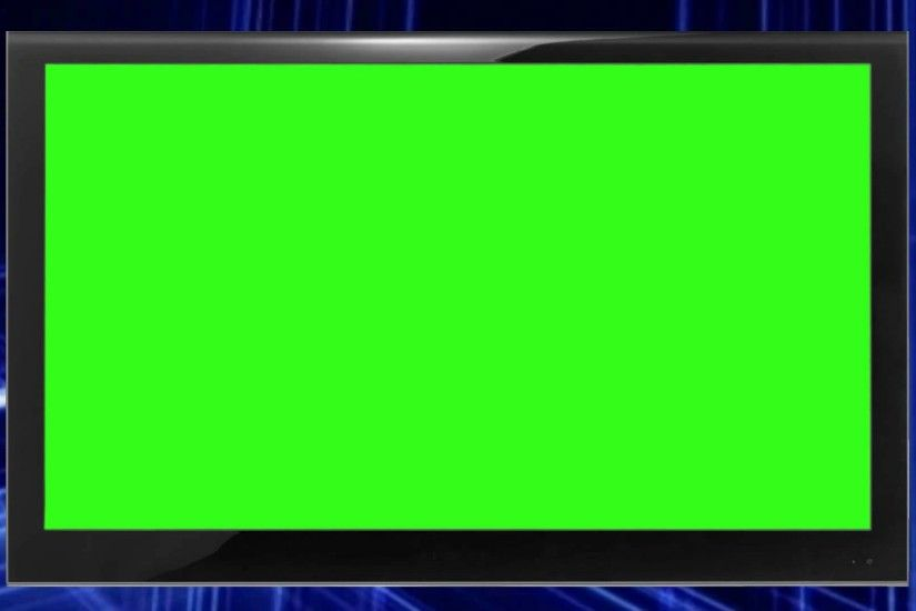 Green Screen Monitor background video 1080p HD stock video 1920x1080