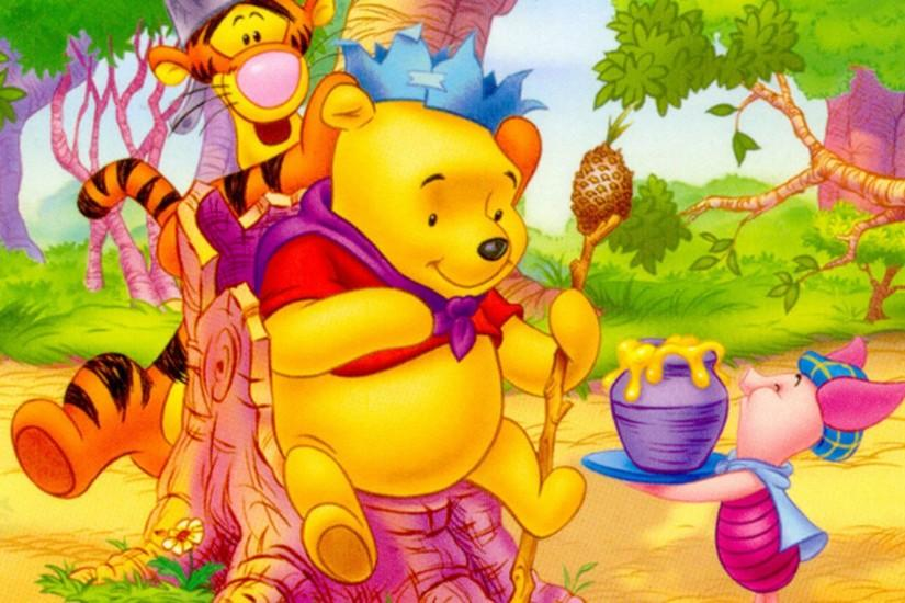 Winnie The Pooh Thanksgiving Wallpaper HD Resolution