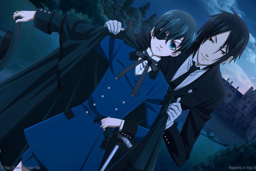 cool black butler wallpaper 2560x1600 for iphone 7