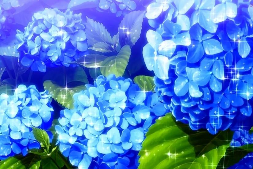 Anime Flower Scenery Wallpaper Desktop #56289 Wallpaper