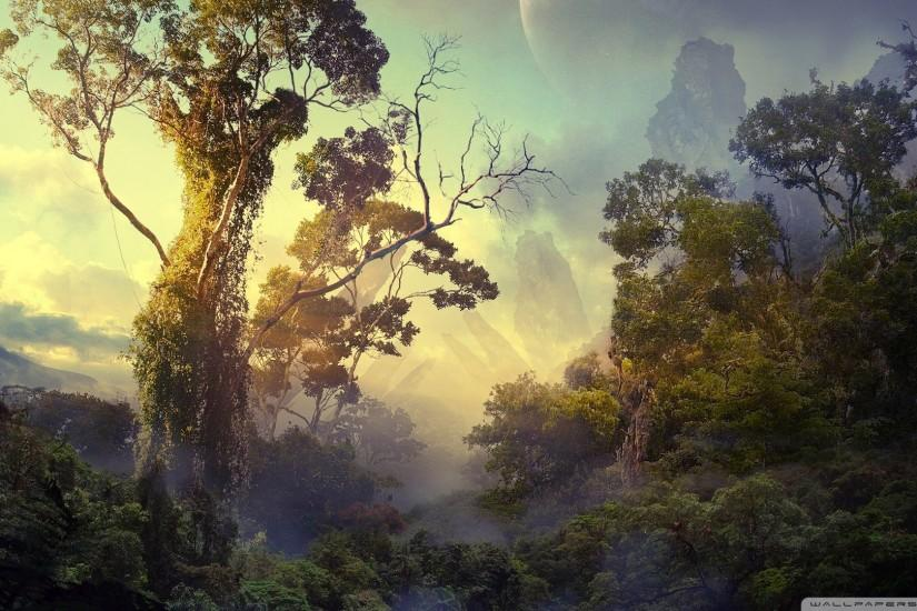 Jungle Fantasy Wallpaper 1920x1080 Jungle, Fantasy, Art ..