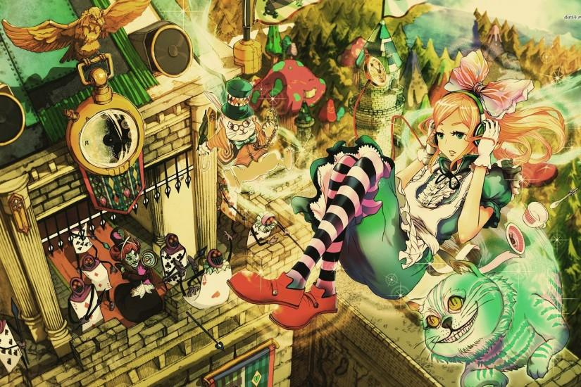 download free alice in wonderland wallpaper 1920x1200