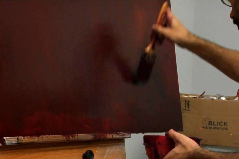 The Painting Techniques of Mark Rothko: No. 16 (Red, Brown, and Black) |  ArtBabble