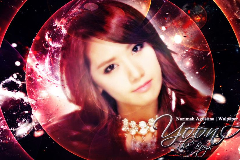... im yoona the boys comeback 2011 red wallpaper by nazimah agustina
