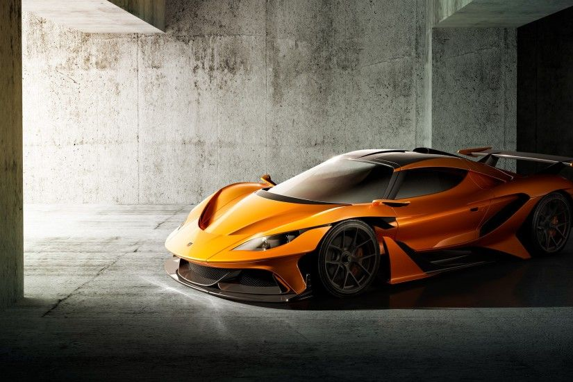 Apollo Arrow Concept Car 4K