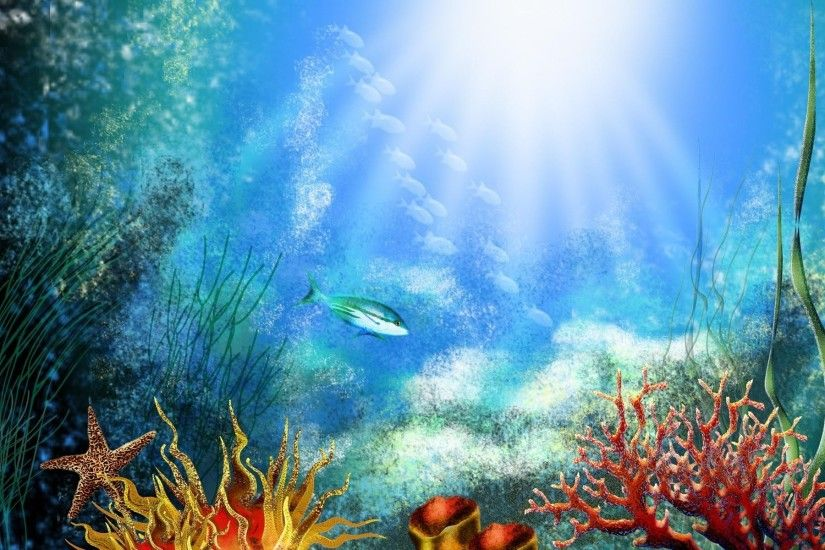Underwater-World-Desktop-Backgrounds-HD