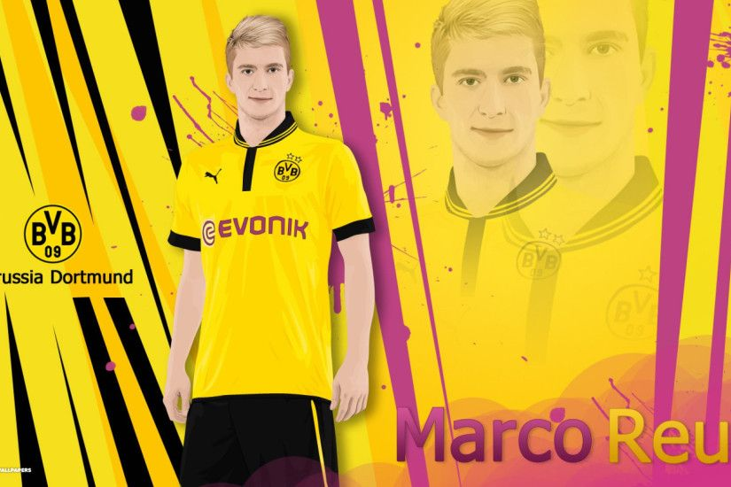 marco reus vector wallpaper