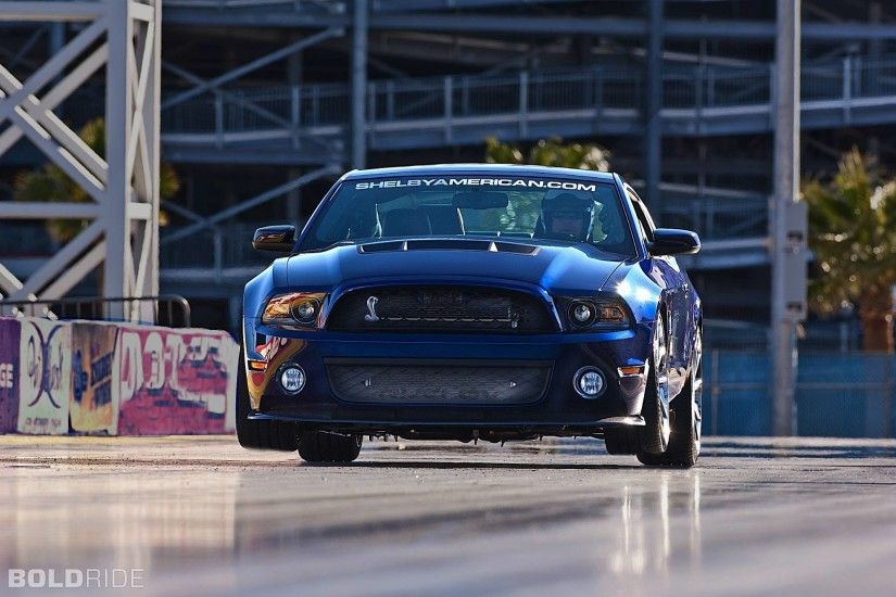 2012 Ford Mustang Shelby 1000 drag racing race car hot rod muscle .