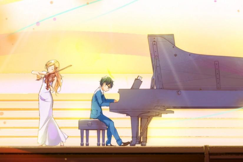 your lie in april wallpaper 1920x1080 hd
