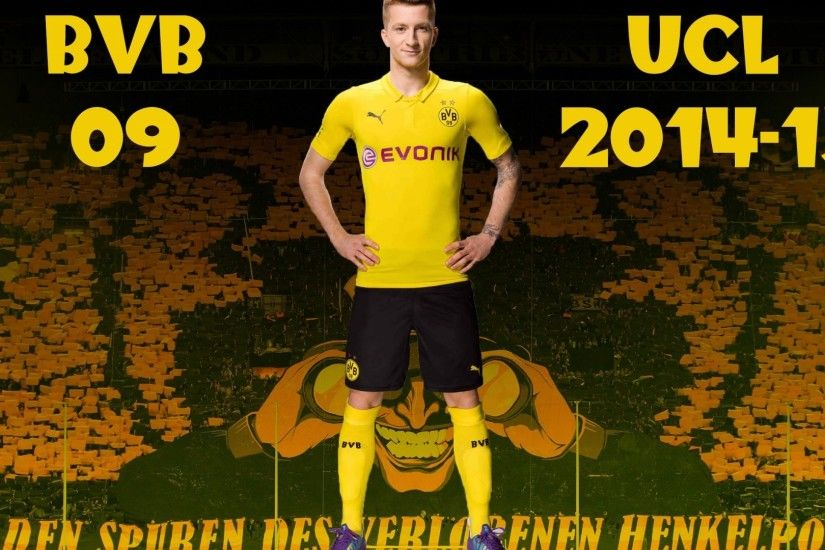 Marco Reus BVB Champions League Kit HD Wallpaper for desktop backgrounds .  Also For Other HD devices.