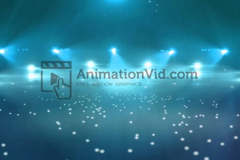 Flashing Lights Concert Stage Motion Background