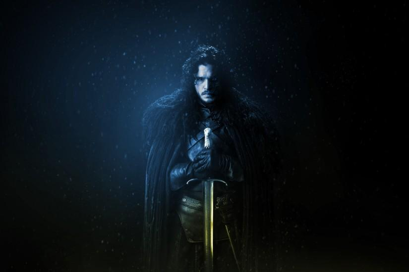 ... Game of Thrones Wallpaper - Jon Snow (no text) by RockLou