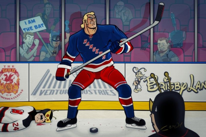 Hockey nhl the venture bros new york rangers g wallpaper | 1920x1200 |  128757 | WallpaperUP