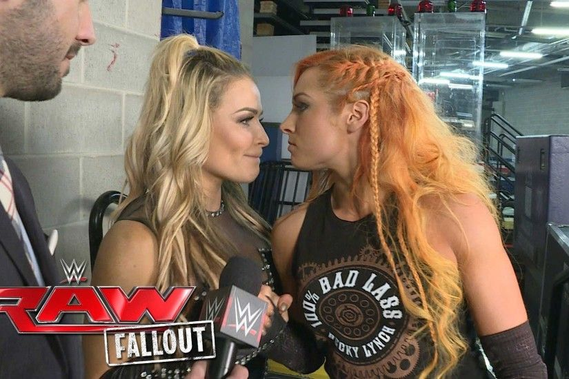 Becky Lynch will always have Natalya's back: Raw Fallout, May 30, 2016 -  YouTube