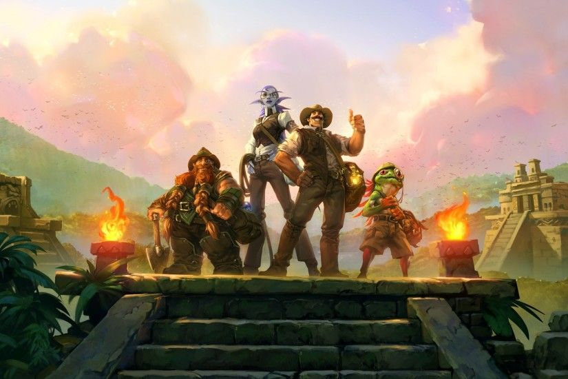 Hearthstone: League of Explorers widescreen wallpapers
