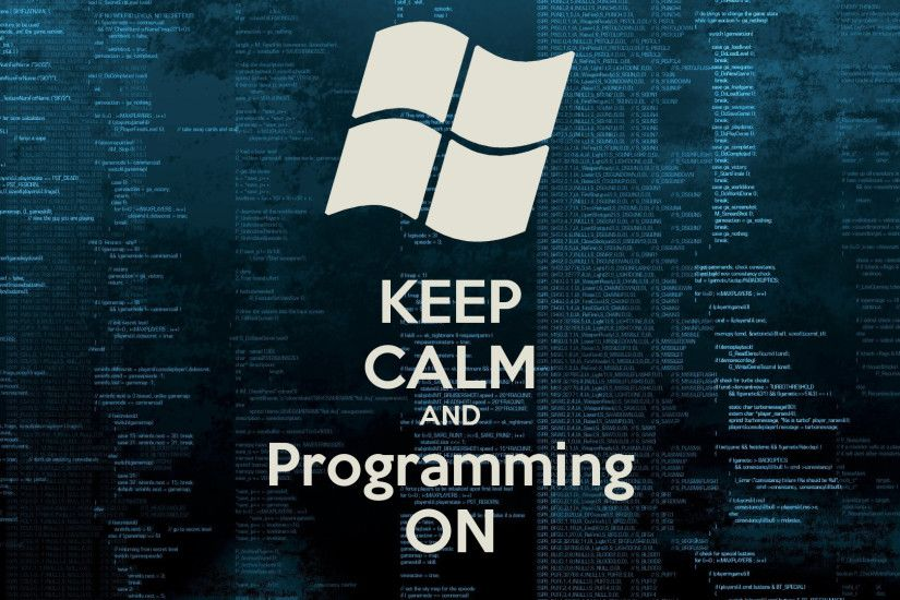 KEEP CALM AND Programming ON Poster | Antonino Braz | Keep .