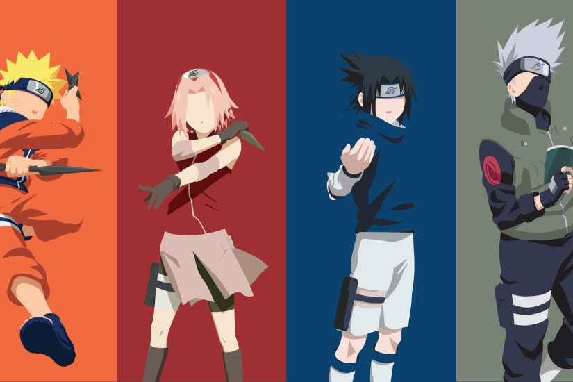 ... Squad 7 (Naruto) by Klikster