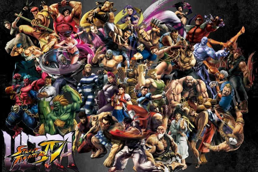 large street fighter wallpaper 2560x1725