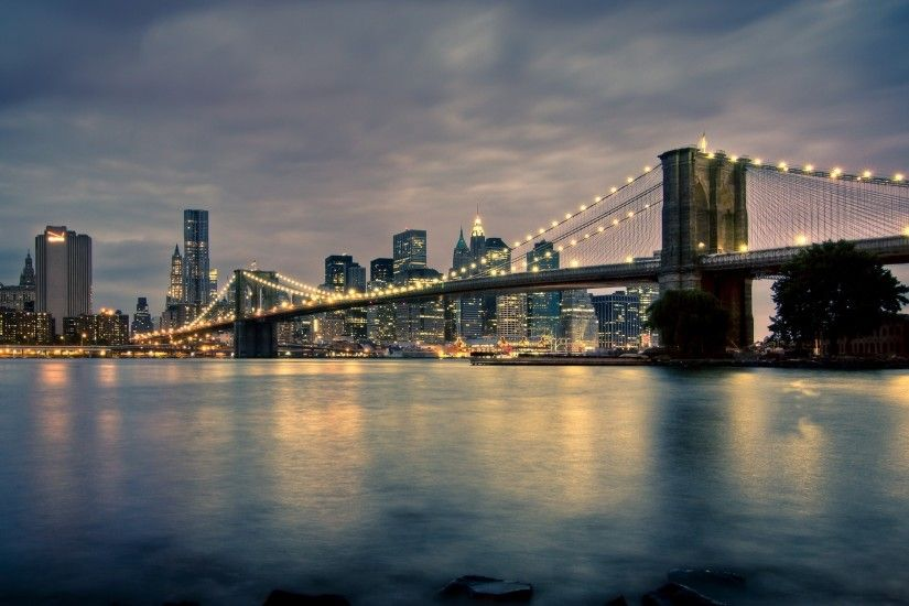 New York City Brooklyn Bridge wallpapers (14 Wallpapers)