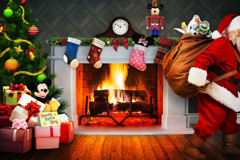 Disney Parks Newsletter Exclusive Christmas Wallpaper