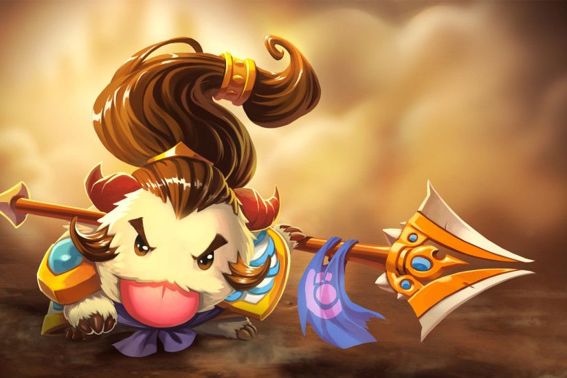 Download wallpaper Poro Xin Zhao So Cute full HD on GameWalls.