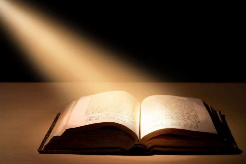 Bible in Spotlight Picture