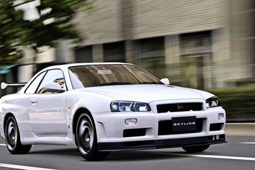 undefined Nissan Skyline GTR R34 Wallpapers (51 Wallpapers .