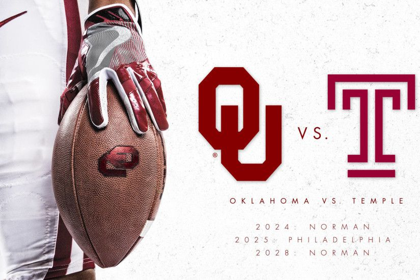 Oklahoma and Temple Agree to Football Series
