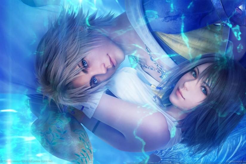 ... Final Fantasy X - X-2 HD wallpaper or background 01