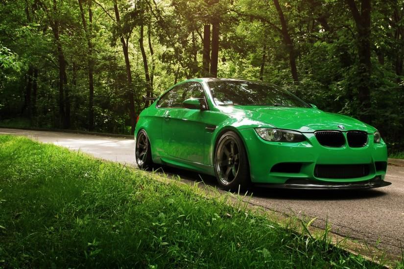 Go Green BMW 1080p HD Wallpaper Nature