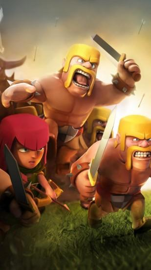 vertical clash of clans wallpaper 1080x1920 for iphone 5s