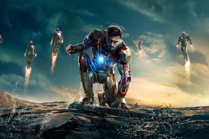Iron Man 3 widescreen computer desktop wallpaper