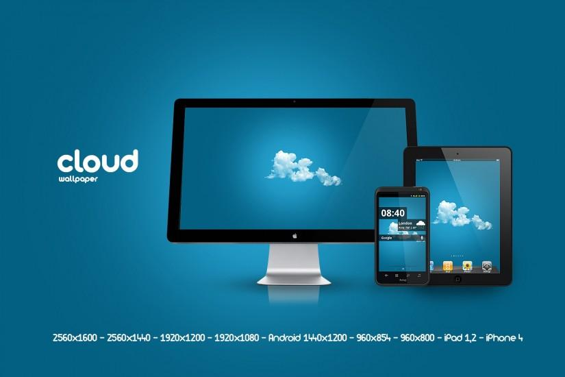 new cloud wallpaper 1920x1200 screen