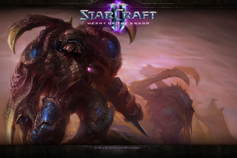 Starcraft 2 wallpaper download free wallpapers for - Starcraft 2 wallpaper art ...