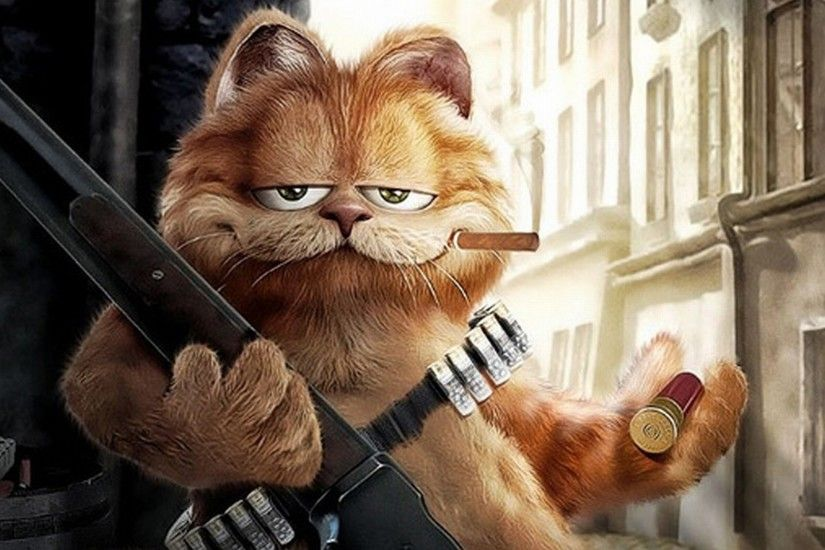 Funny Garfield Wallpapers Wallpaper