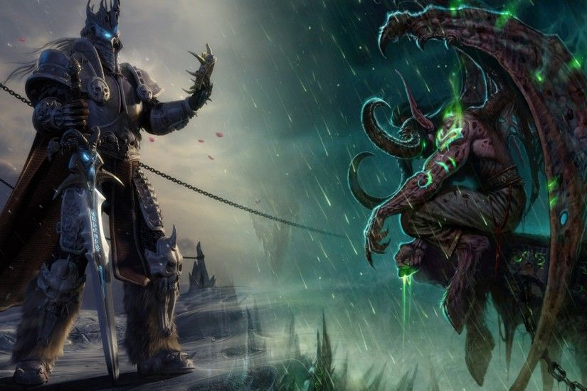 World of Warcraft The Lich King Wallpapers