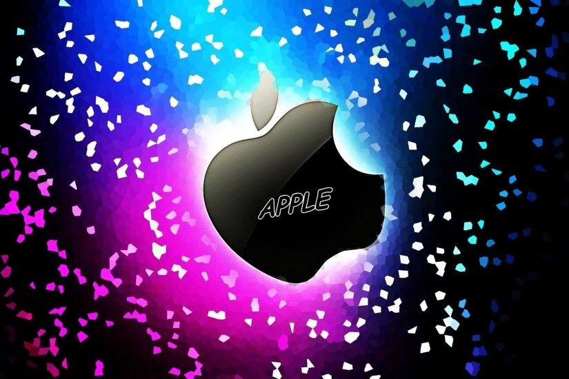 Apple-Wide-Screen-Colorful-wallpaper-3D
