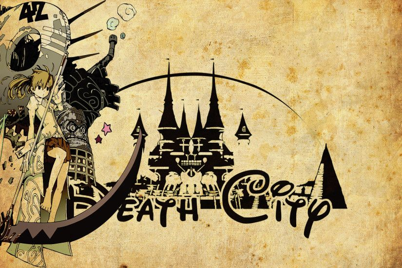 ... Death City - Soul Eater Wallpaper by Siimeo