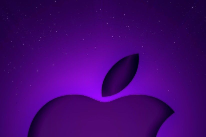 purple apple computer wallpapers kingdom technology picture purple .