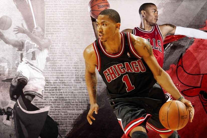 Derrick Rose Wallpaper by DonCaliendo Derrick Rose Wallpaper by DonCaliendo