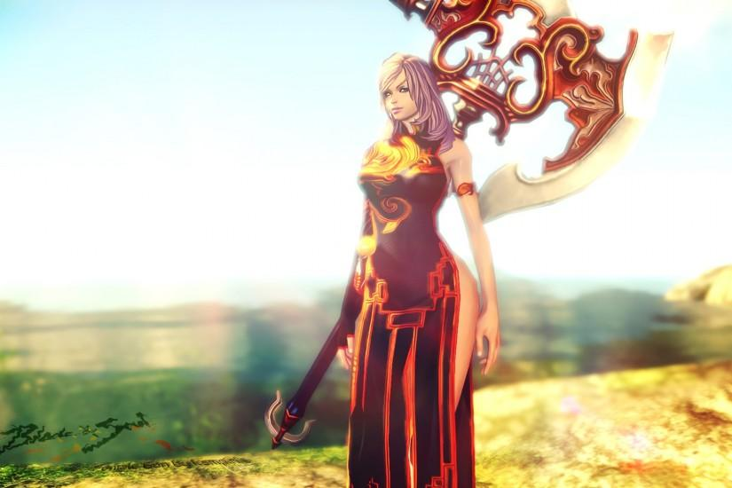 gorgerous blade and soul wallpaper 1920x1080 for mobile