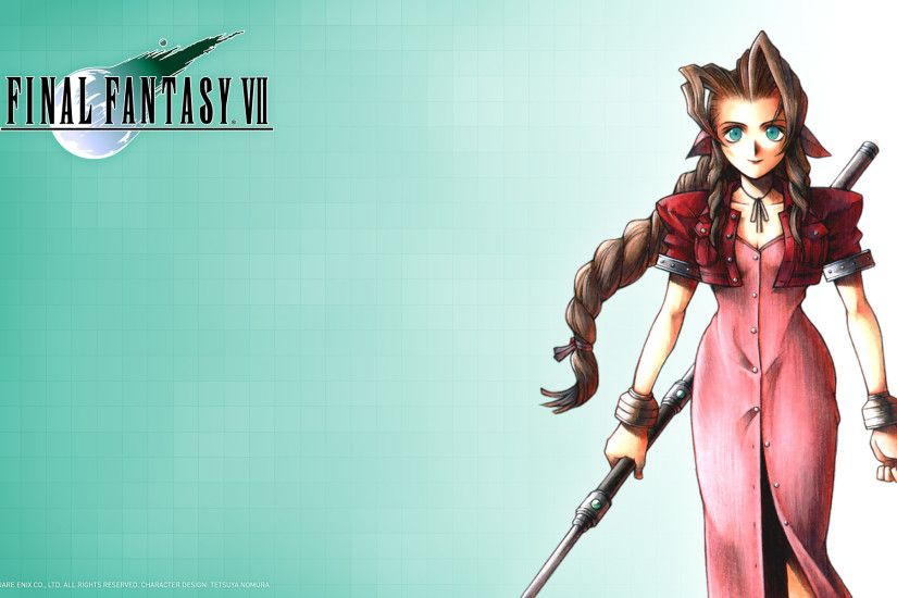 Wallpaper; Aerith; 1920 x 1200 ...