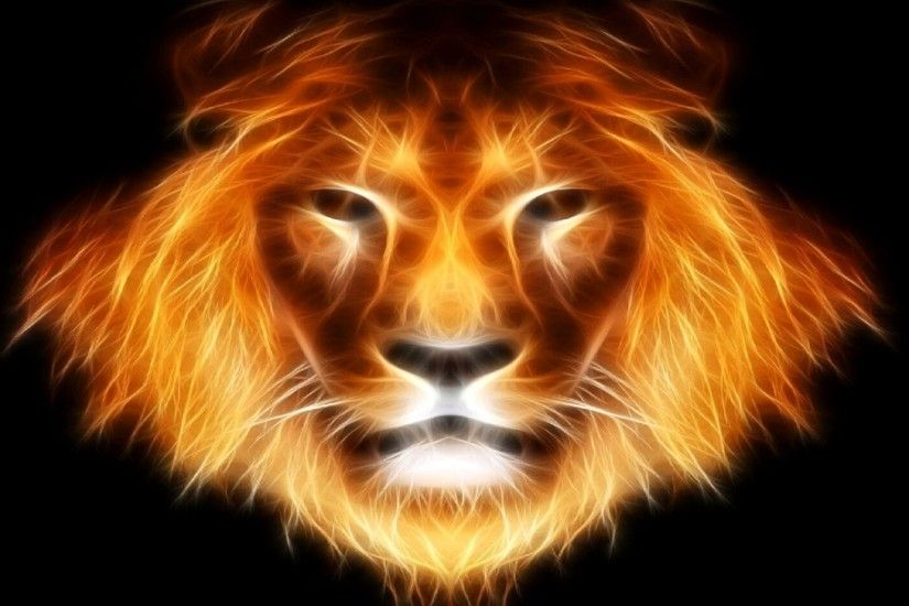 abstract lion wallpapers