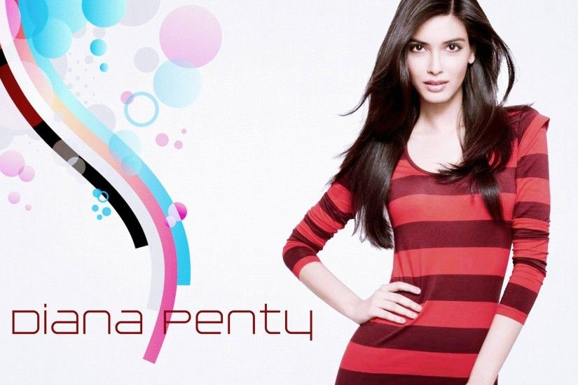 Diana Penty Wearing Red T Shirt WallpaperFree Download