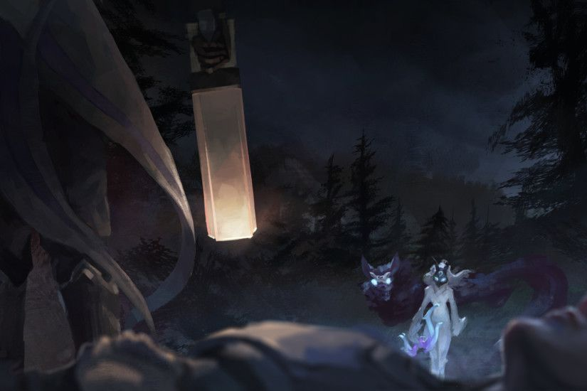 League Of Legends, Kindred, Kindred (League Of Legends), Lamb, Wolf, Gun,  Bows, Forest, Lucian, Lucian (League Of Legends) Wallpapers HD / Desktop  and ...