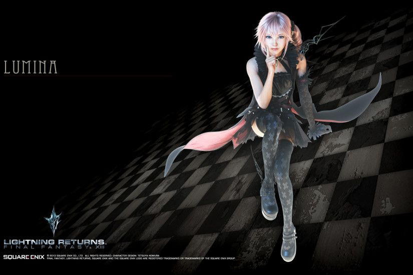 Final Fantasy XIII-3: Lightning Returns Wallpaper 014 – Lumina