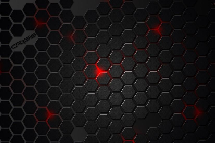 Red with Black Texture Wallpaper - WallpaperLepi