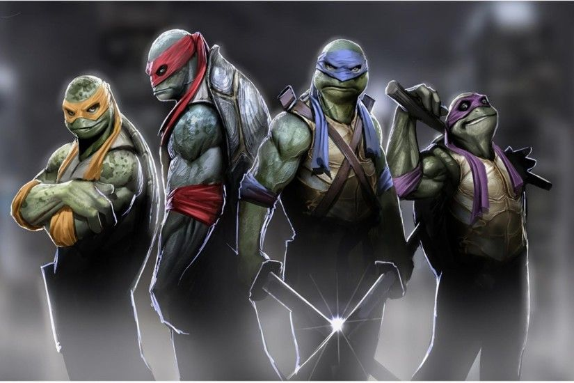 TMNT out of the shadows PS3 THEMES PREVIEW
