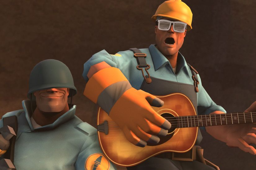 Team Fortress 2(TF2) images team fortress 2 wallpaper soldier and engineer  HD wallpaper and background photos